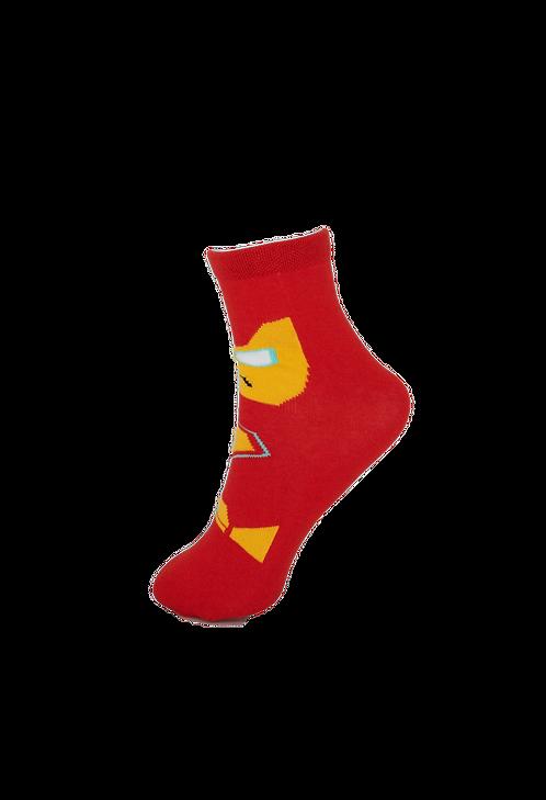 Children's Superhero - Iron Man Socks