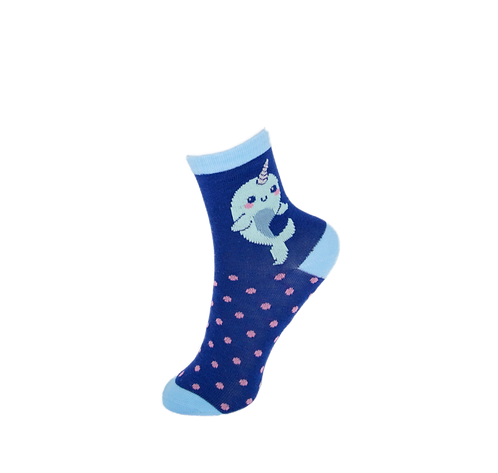 Children's Whale Socks - Spots