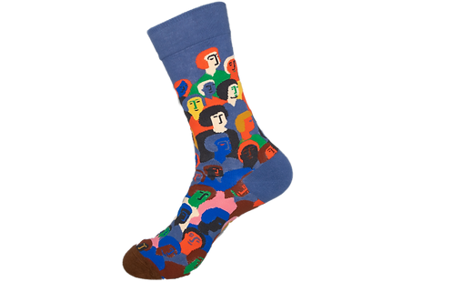 Adults -People Patterned Socks