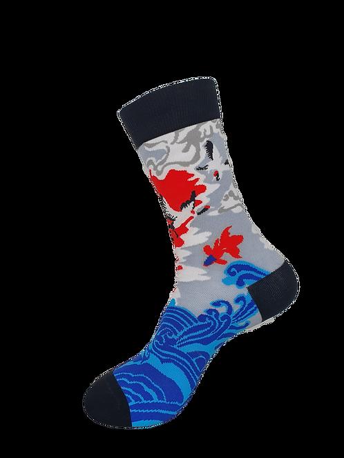 Adult - Chinese Crane Socks