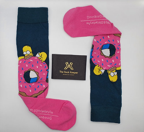 The Simpsons - Mmmm Donuts Socks