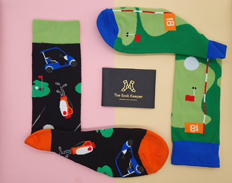 Adult - Golf Game Odd Socks