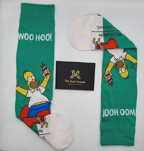 The Simpsons - Homer Says Woo Hoo! Socks