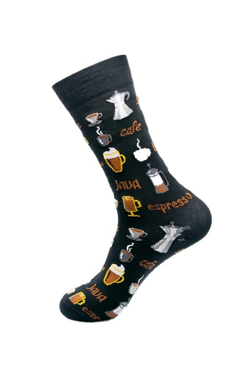 Adults - Coffee themed Cotton Socks
