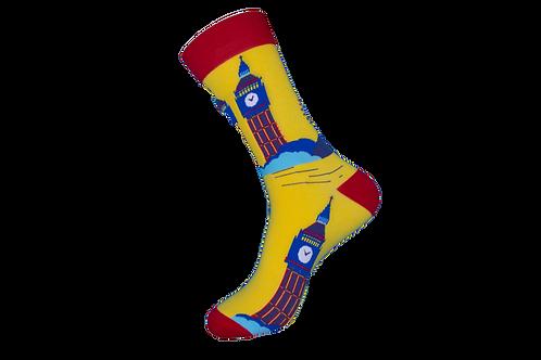 Adults - London Landmarks Patterned Socks