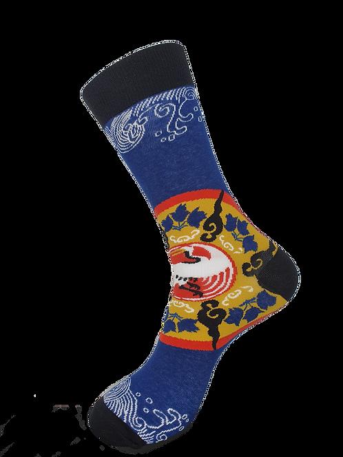 Adult - Chinese Crane Symbol Socks
