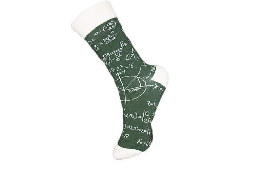 Adults Algebra Maths Socks
