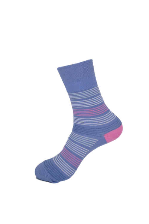 Adults-Gentle Grip Soft Cotton Socks