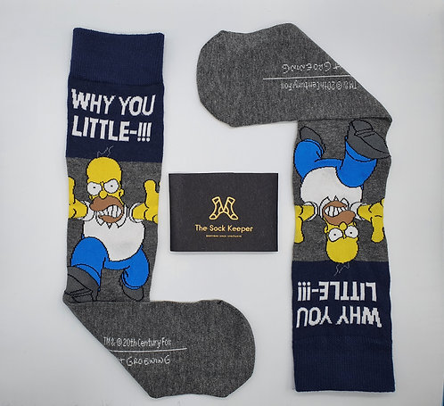 The Simpsons - Angry Homer Socks