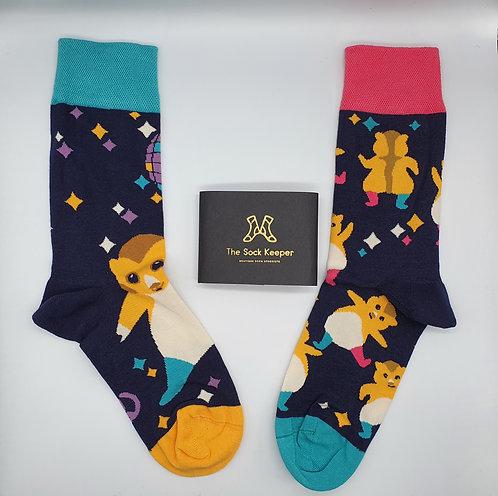 Dedoles Dancing Hamster Socks