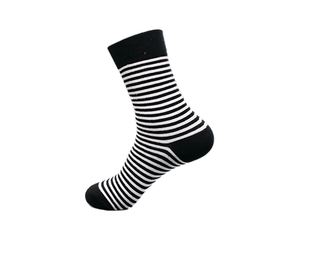 Adults - Traditional Striped Luxury Cotton Socks