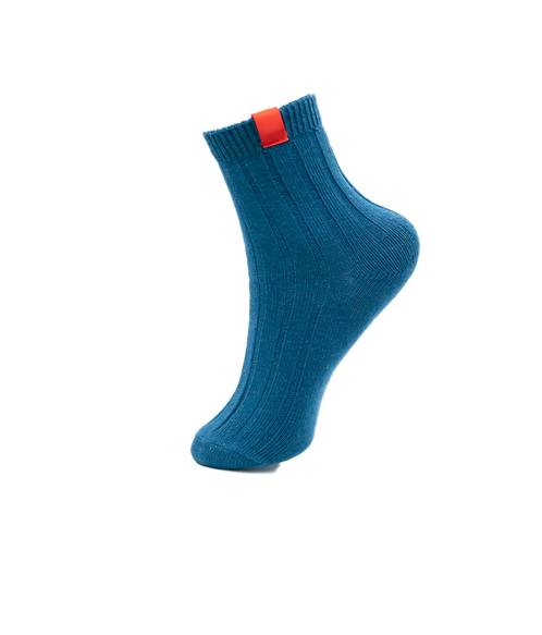 Adults-Presidential Blue Stylish Cotton Rich Ankle Socks.