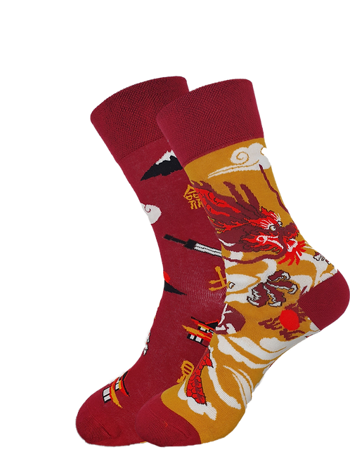 Adult - House of Dragon Odd Socks
