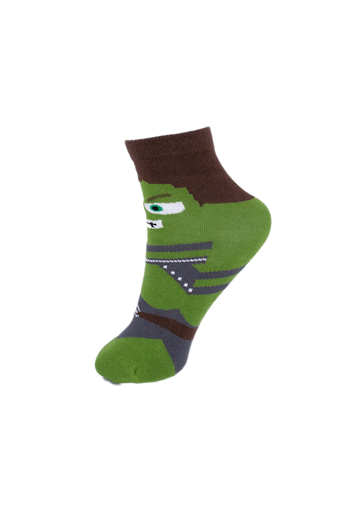 Children's Superhero - Hulk Socks