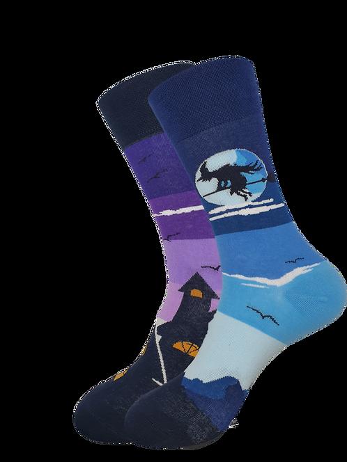 Adult - Whitney Witch Odd Socks
