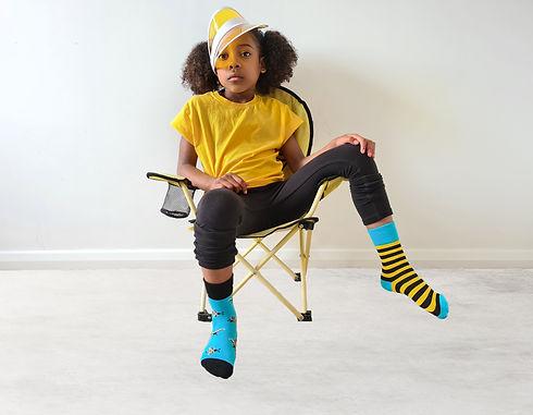 Childrens Bee odd socks
