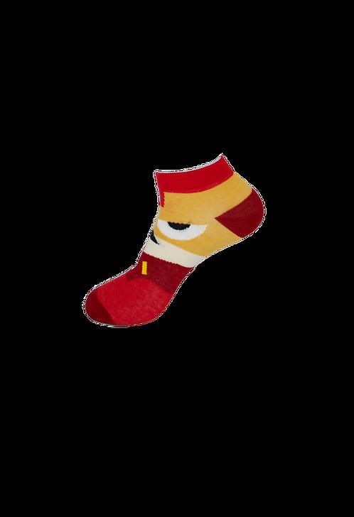 Adults Superhero - Ironman Ankle Socks