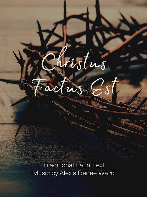 Christus Factus Est (a cappella)