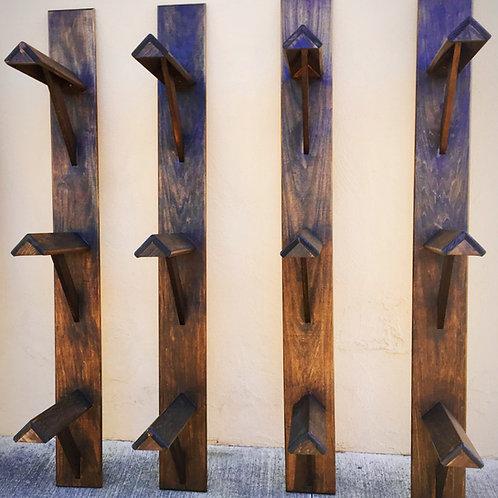 Wooden Wall Saddle Racks