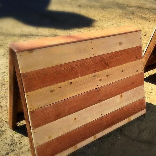 A-Frame Redwood & Coops