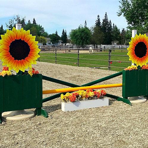Wooden Sunflower Standards
