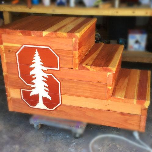 Redwood Mounting Block