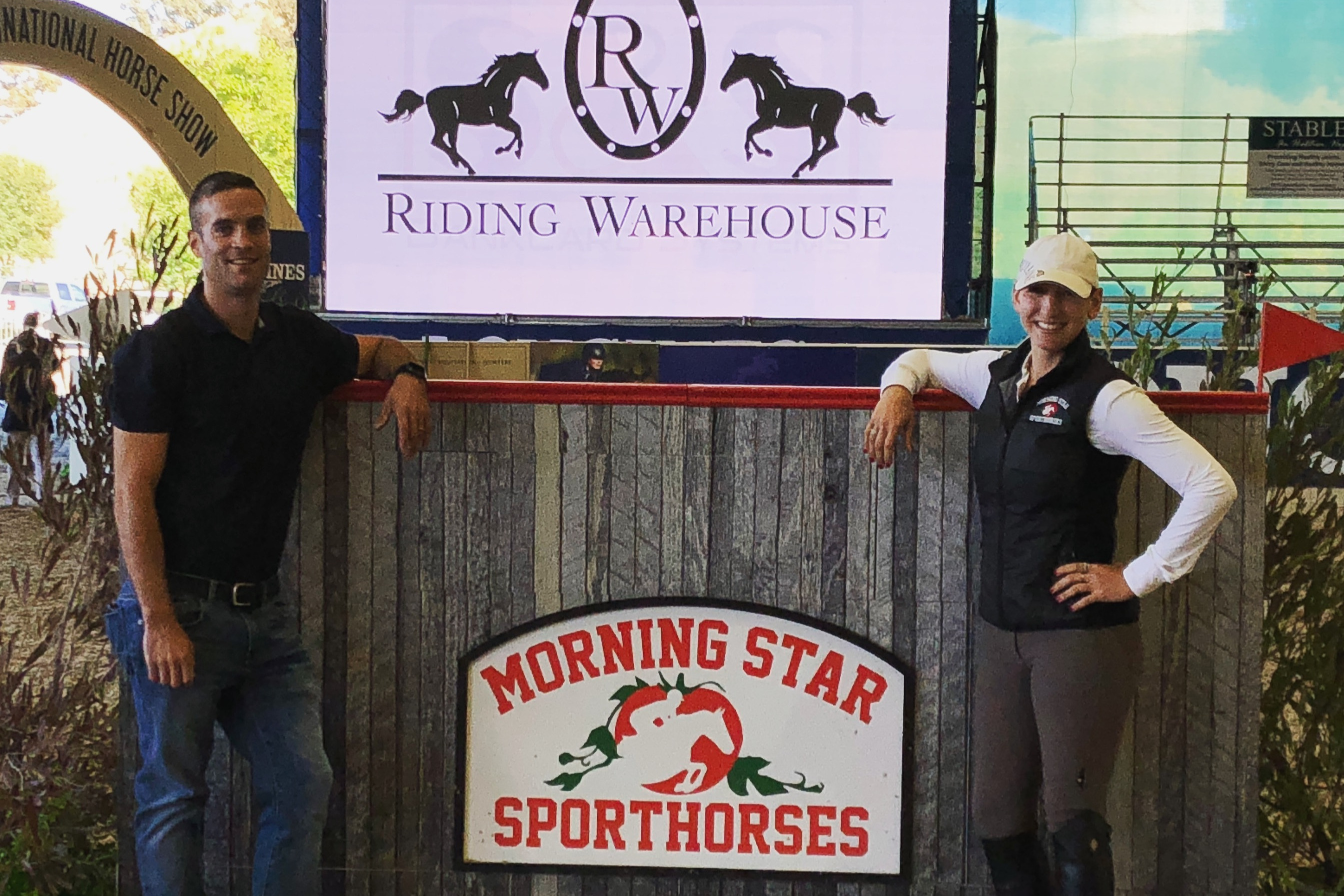 Morningstar Sport Horses Wall