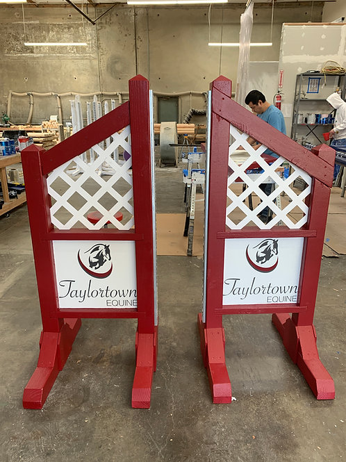Custom Designed Wooden Standards