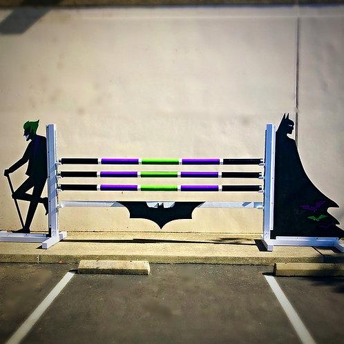 Batman & Joker-Themed Aluminum Jump