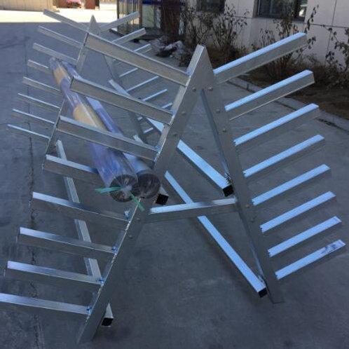 Galvanized Pole Rack - Double-Sided