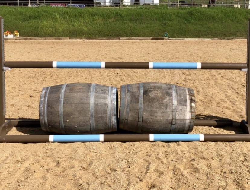 Wine Barrel Horse Jumps