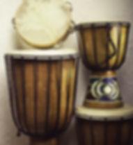 Tambours à main