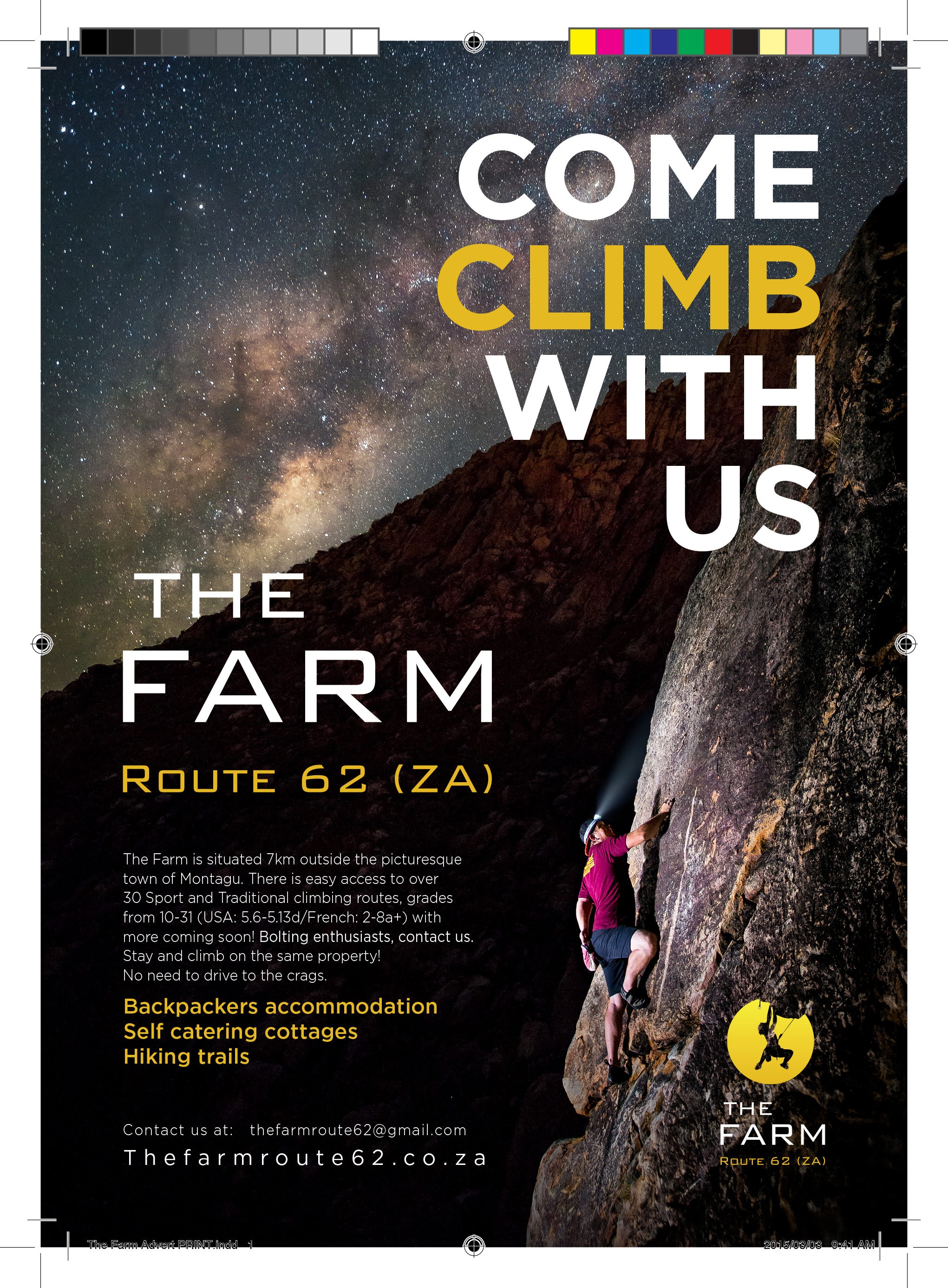 The Farm Advert PRINT1