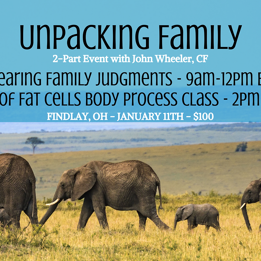 Unpacking Family: 2 Part Event