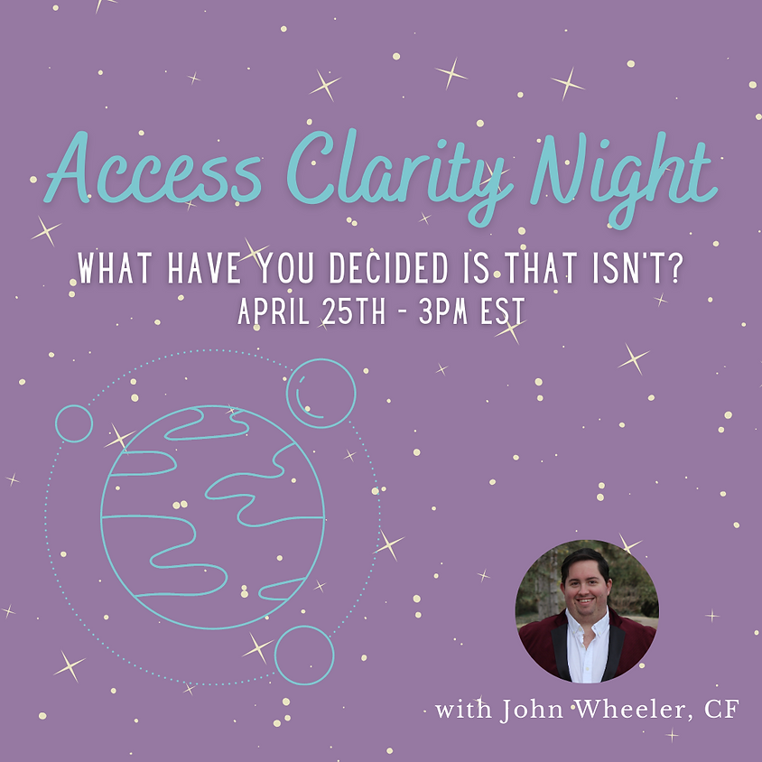 Access Clarity Night - Definitions