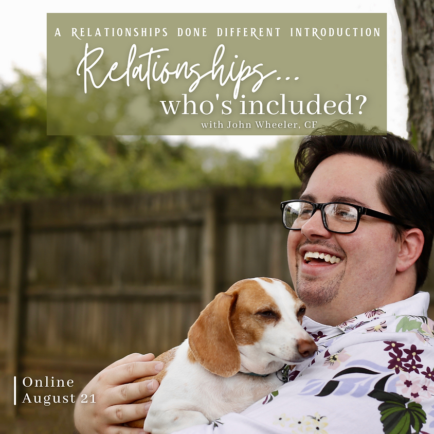 Relationships...who's included? - 4 Hour RDD Intro