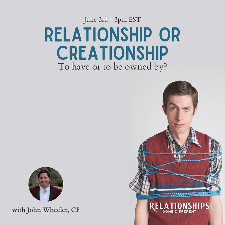RDD Intro - Relationship Or Creationship