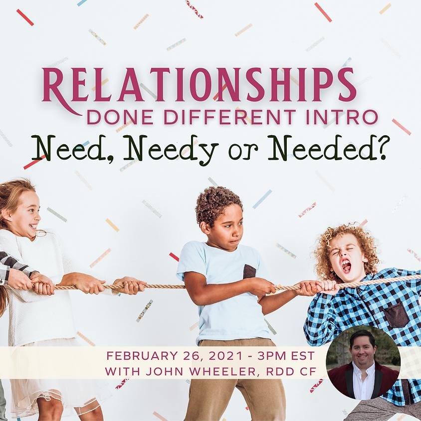 RDD Intro - Need, Needy or Needed?