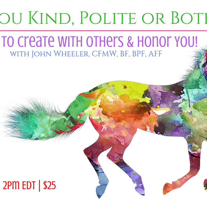 Are You Kind, Polite or Both?