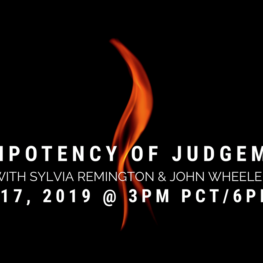 The Impotency of Judgement - Telecall with Sylvia and John