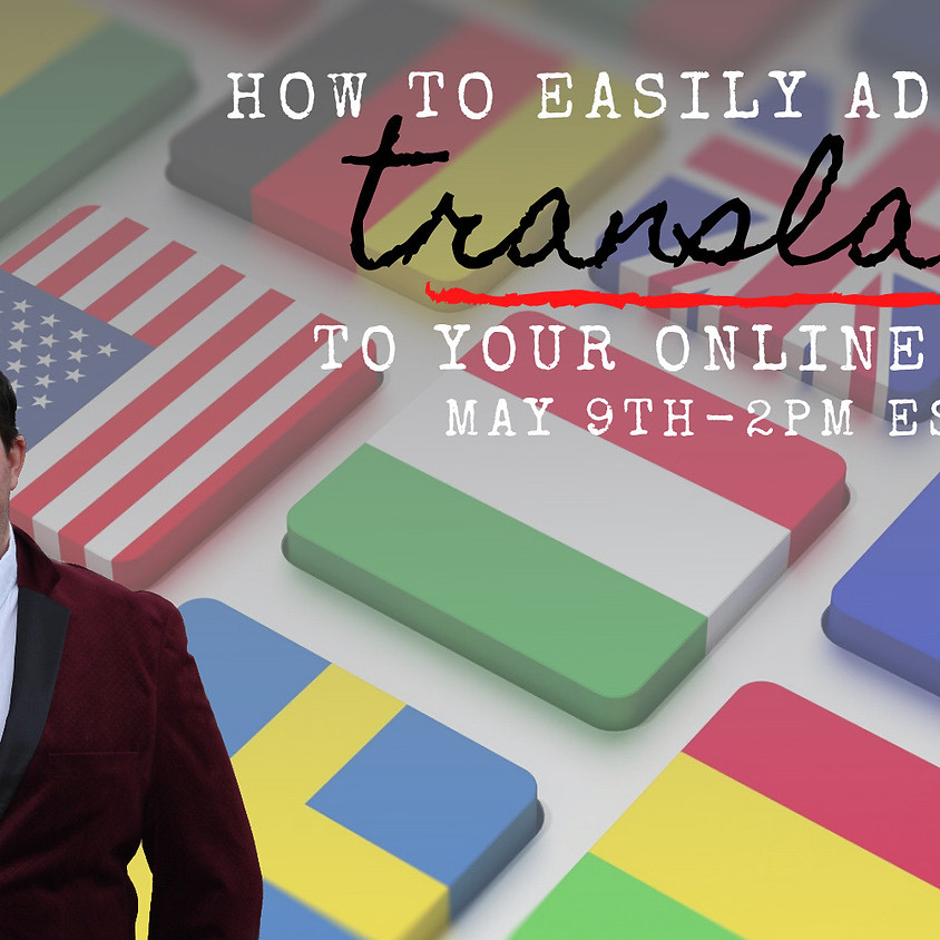 How To Easily Add Translation To Your Online Classes