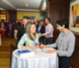 Dr Vijay Ram Signing Books in San Diego.