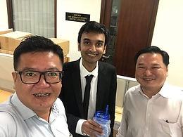 Lehan Edirisinghe at BH Global SGX Singapore