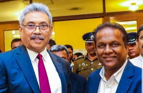 Gotabaya Rajapaksa and Thilanga Sumathipala