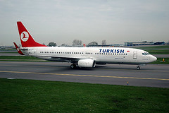Turkish Airlines 737-800 TC-JFT
