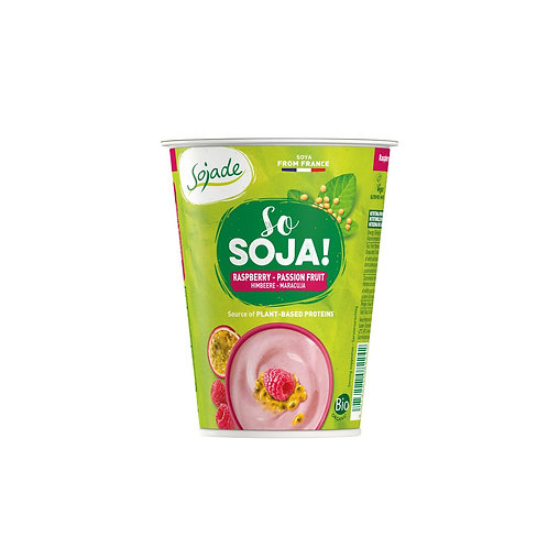 Jogurt di soia al lampone e maracuja - So Soya!