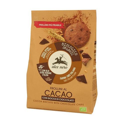 Frollini cacao con gocce di cacao - Alce nero
