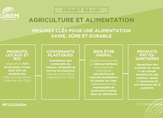 Pour une rémunération plus juste des agriculteurs et l'accès de tous les Français à une alimentation