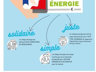 Le chèque énergie : une aide pour 4 millions de ménages
