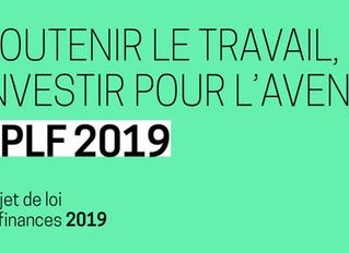 Projet de Loi de Finances 2019 - Première Partie